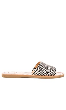 Dolce Vita Javier Sandal in Black & White