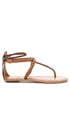 Keoni Sandal in Caramel Multi Leather