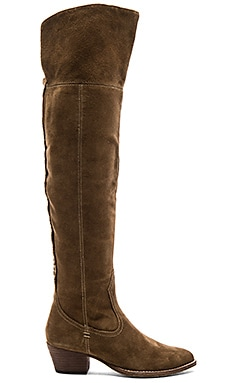 Silas Boot in Khaki