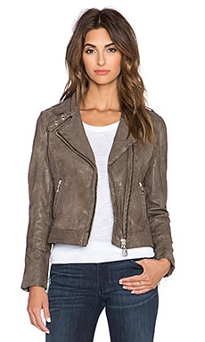 DOMA Moto Jacket in Truffle