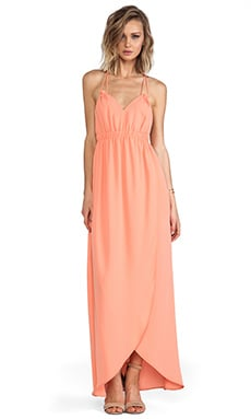 Tulip Gown in Peach