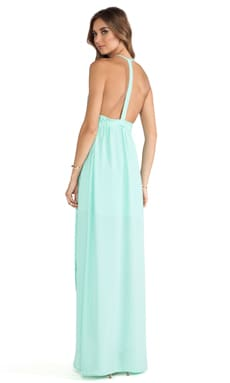 Tulip Gown in Mint Cream