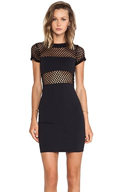 Banded Fitted Mini Dress