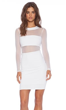 Banded Mini Dress