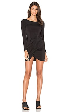 Knot Dress in Black