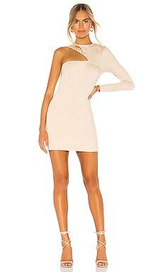 SPLICE 미니 바디콘 드레스 Donna Mizani $95