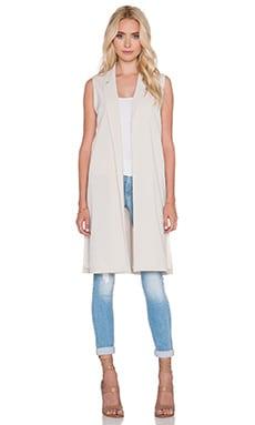 Donna Mizani Vest in Beige