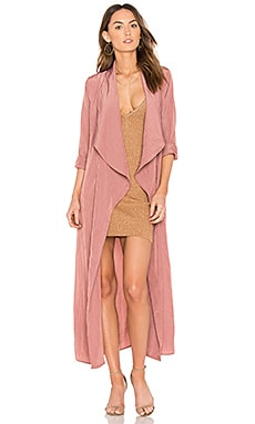 Oxford Duster in Cameo Pink