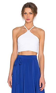 Donna Mizani Triangle Top in White