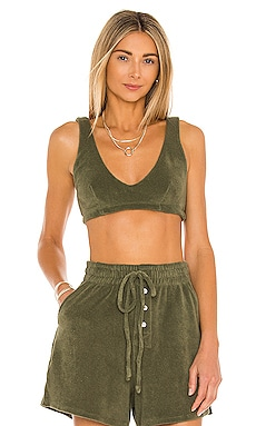 Terry Bralette DONNI. $76 NEW
