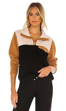 Tri-Mini Sherpa Pullover DONNI. $234 NEW