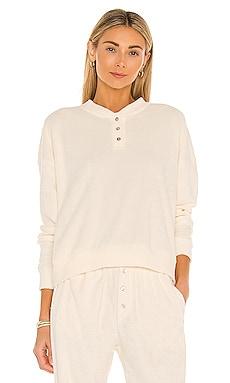 Terry Henley Sweatshirt DONNI. $159