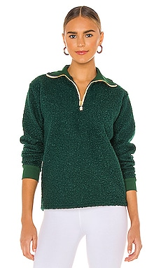 Curly Half Zip Pullover DONNI. $175