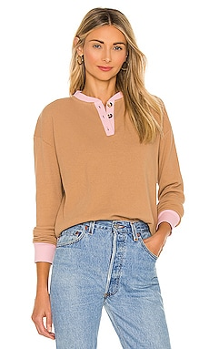 Thermal Henley Top DONNI. $134