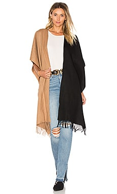 Hero Wrap in Camel & Black