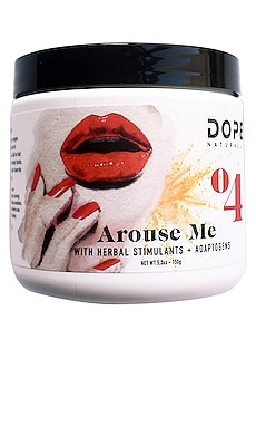 Arouse Me with Herbal Stimulants + Adaptogens DOPE Naturally $55 NEW ARRIVAL