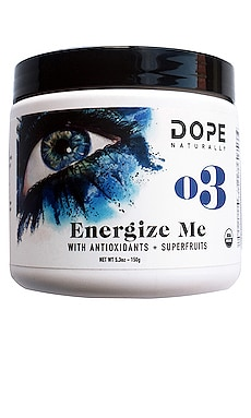 Energize Me with Antioxidants + Superfruits DOPE Naturally $35