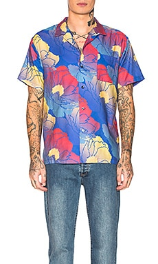 Hawaiian Shirt DOUBLE RAINBOUU $57