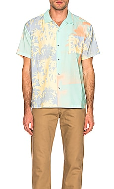 Hawaiian Shirt DOUBLE RAINBOUU $87