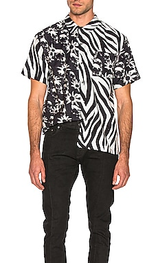 Hawaiian Shirt DOUBLE RAINBOUU $76