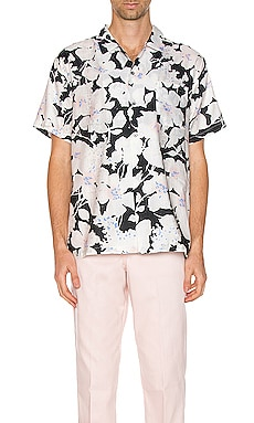 Hawaiian Shirt DOUBLE RAINBOUU $133 (FINAL SALE)