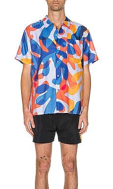 Hawaiian Shirt DOUBLE RAINBOUU $84