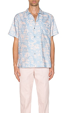 Hawaiian Shirt DOUBLE RAINBOUU $59