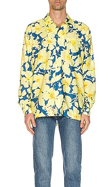 CAMISA HAWAIANA LONG SLEEVE DOUBLE RAINBOUU $103