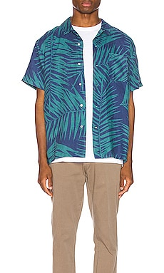 Hawaiian Shirt DOUBLE RAINBOUU $61