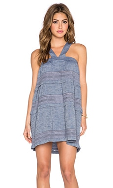 d.RA Shanna Dress in Indigo Chambray