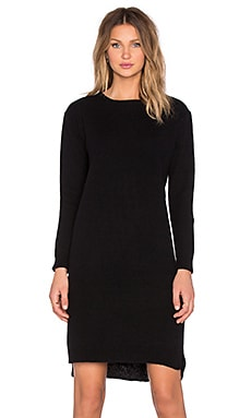 d.RA Travis Sweater Dress in Black