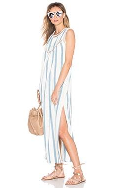 Cosette Maxi Dress in French Riviera