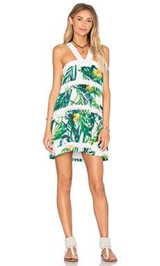 Shanna Dress in Lush Palm