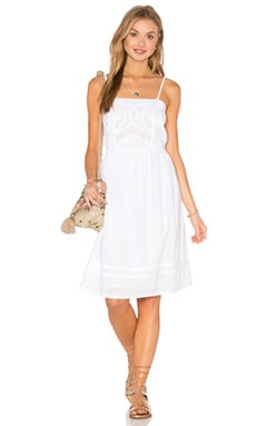 Charmant Dress in White