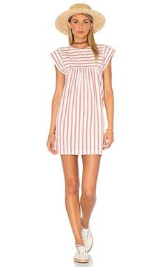 Georgia Dress in Ember Stripe