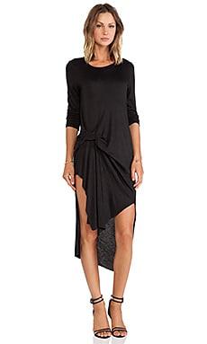 d.RA Cosmos Dress in Black