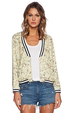 d.RA Okiko Jacket in Yellow Ditsy Floral