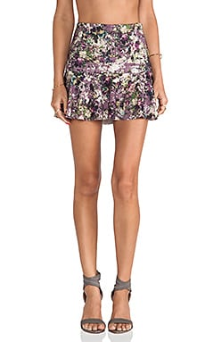 d.RA Hyacinth Skirt in Floral