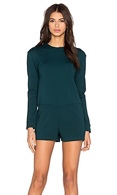 d.RA Owen Romper in Emerald