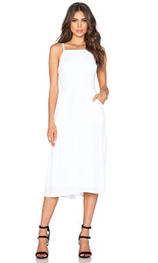 d.RA Willow Jumpsuit in White