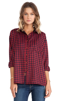 d.RA Dogwood Top in Plaid