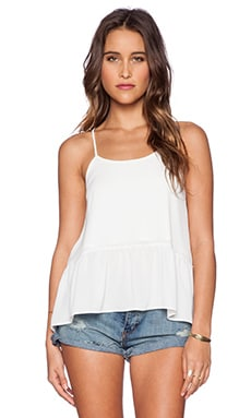 d.RA Sham Top in White