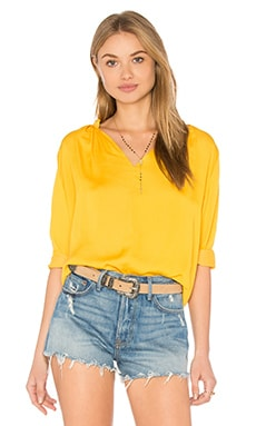 Lucienne Top in Mustard