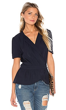 Amira Top in Navy