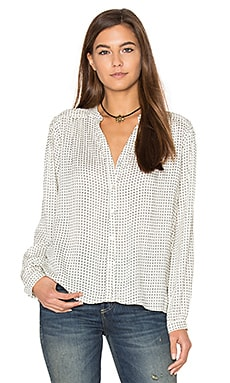 Alie Top in Cross Dot