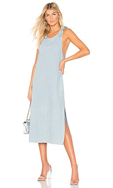 Langley Dress Dr. Denim $89