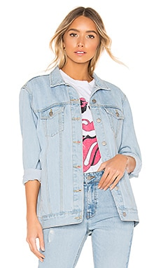 River Trucker Jacket Dr. Denim $110