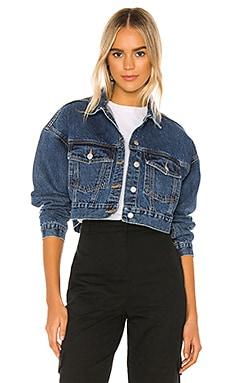 Yoko Trucker Jacket Dr. Denim $100