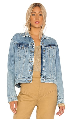 Alva Trucker Jacket Dr. Denim $56