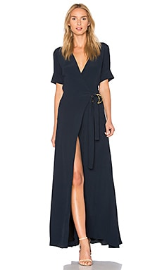 Blair Maxi Dress in Navy